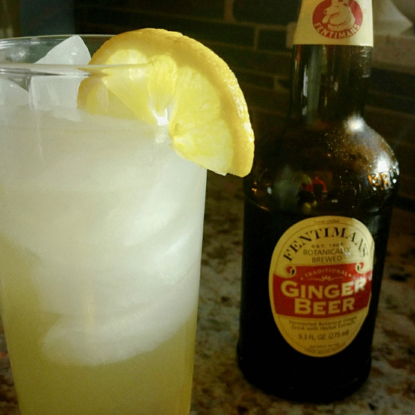 pear ginger cocktail