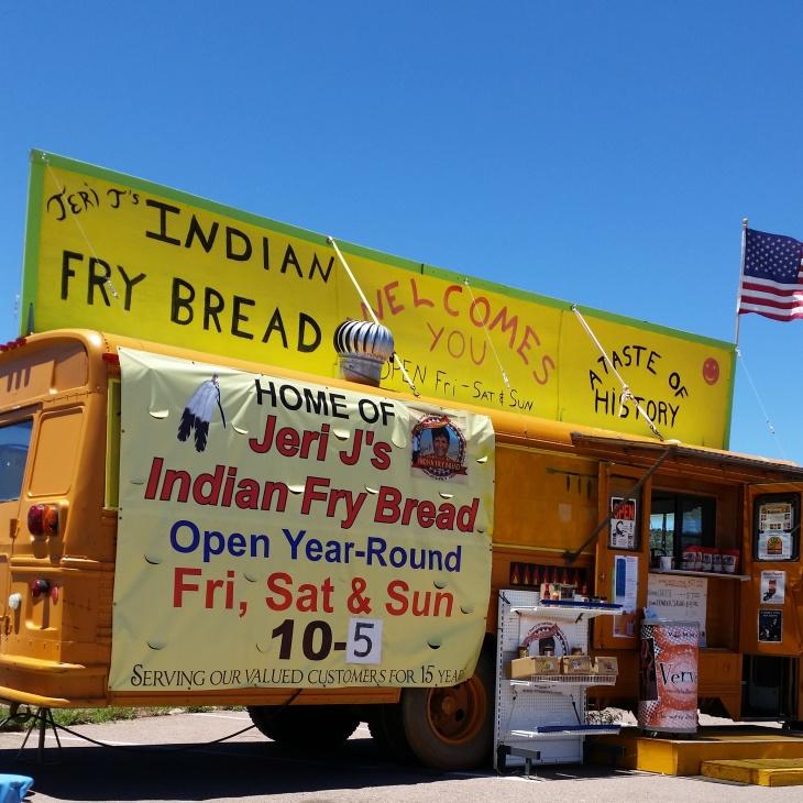 Jeri-J's in Payson, Arizona has amazing Fry Bread