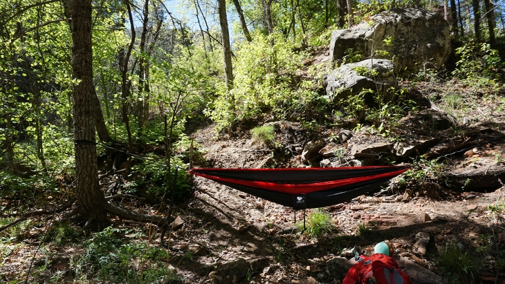 backpacking eno hammock